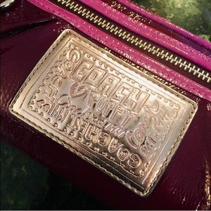 Coach Bags - ✨Coach Purple Wristlet Wallet✨